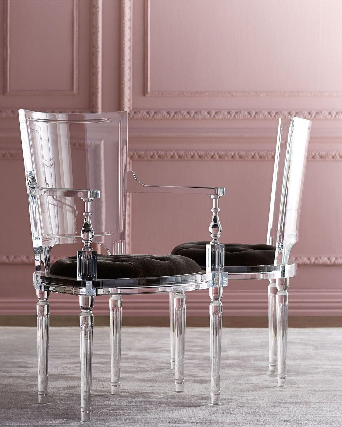 Delicieux Acrylic Dining Chairs 1