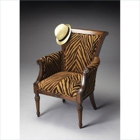 Animal print accent chairs 7