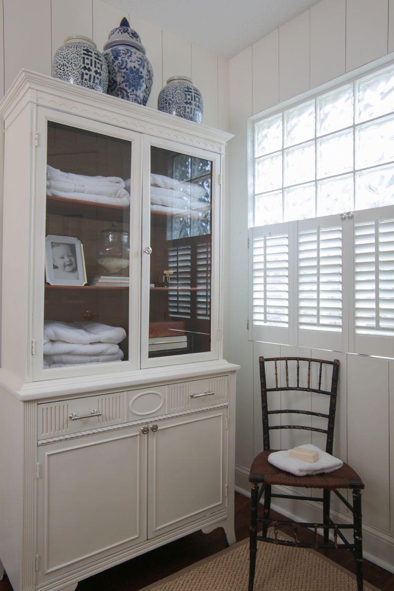 Antique Linen Cabinets