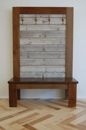 Bench coat rack 28