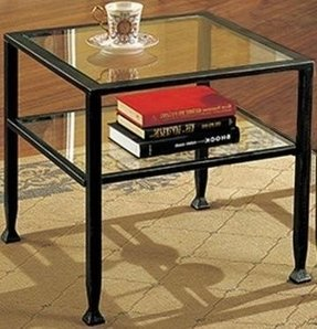 Black Metal And Glass Coffee Table Ideas On Foter