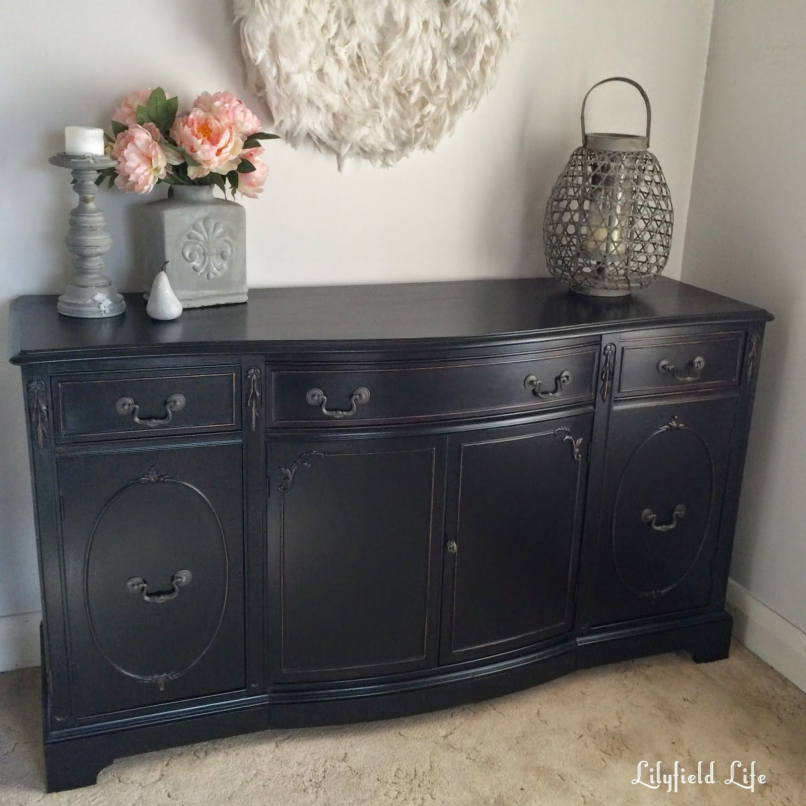 Incroyable Black Sideboards And Buffets