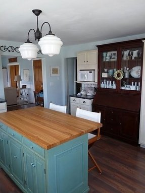 Kitchen island with butcher block foter butchers block island bench workwithnaturefo