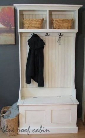 Coat and shoe rack combo
