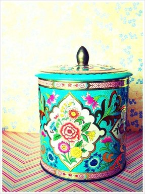 Colorful kitchen canisters 29