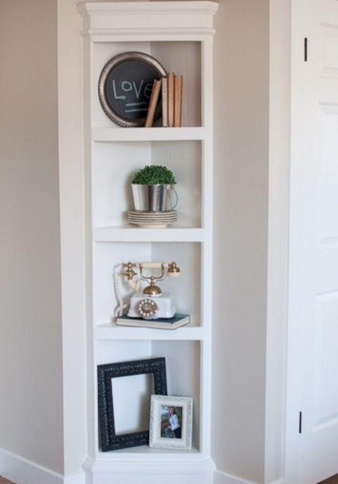 Nice Corner Shelves For Bedroom