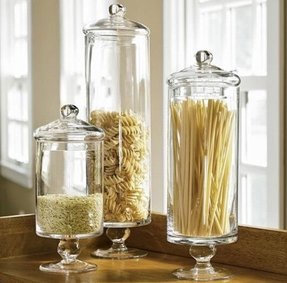 Decorative kitchen canisters 4