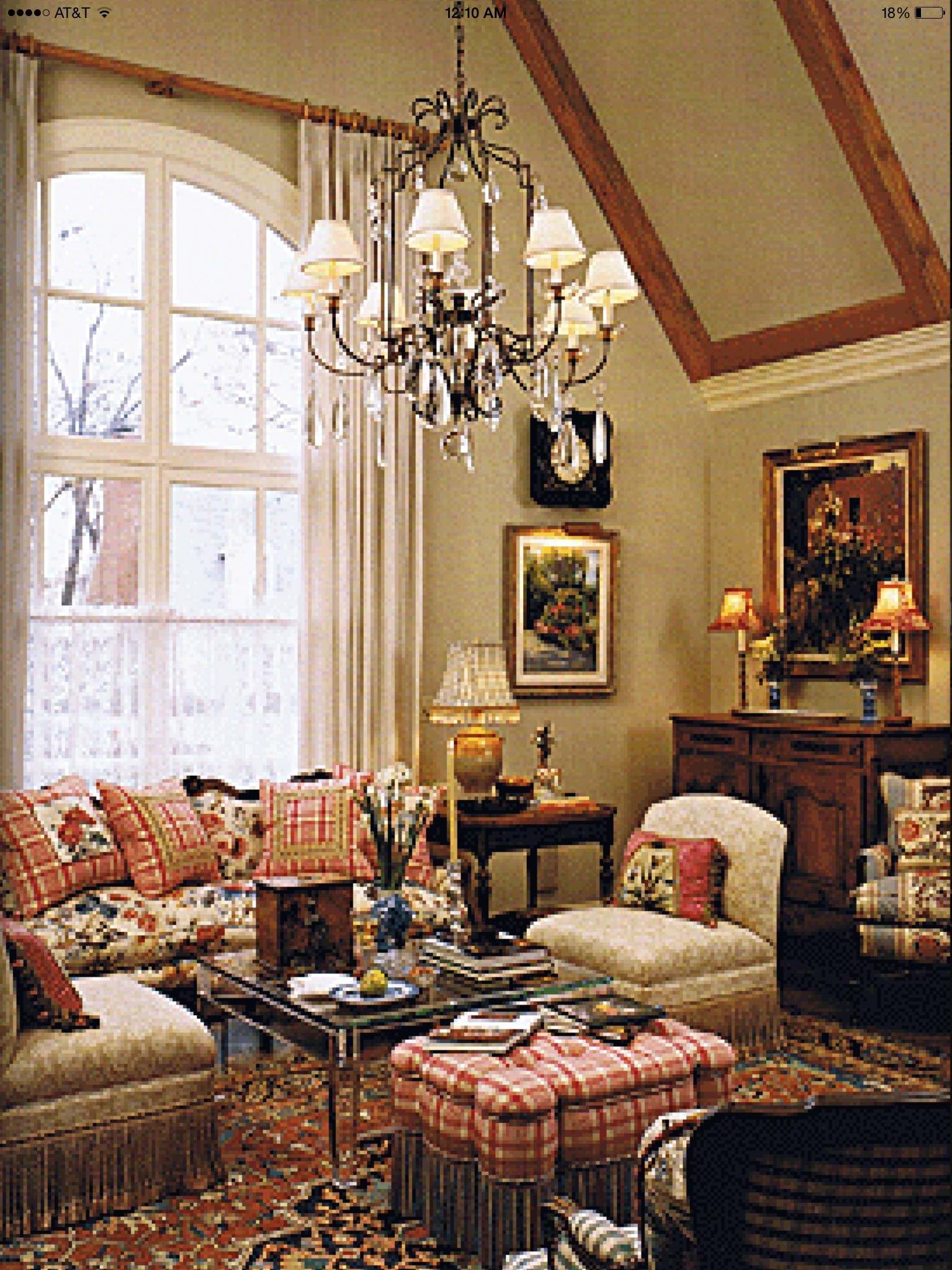French Country Living Room Sets