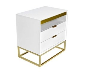 Gold Night Stand