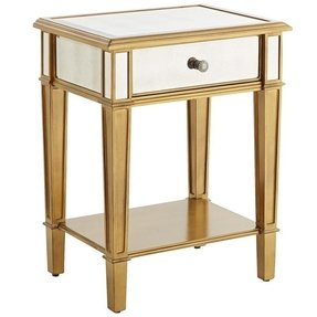 Gold nightstands 9
