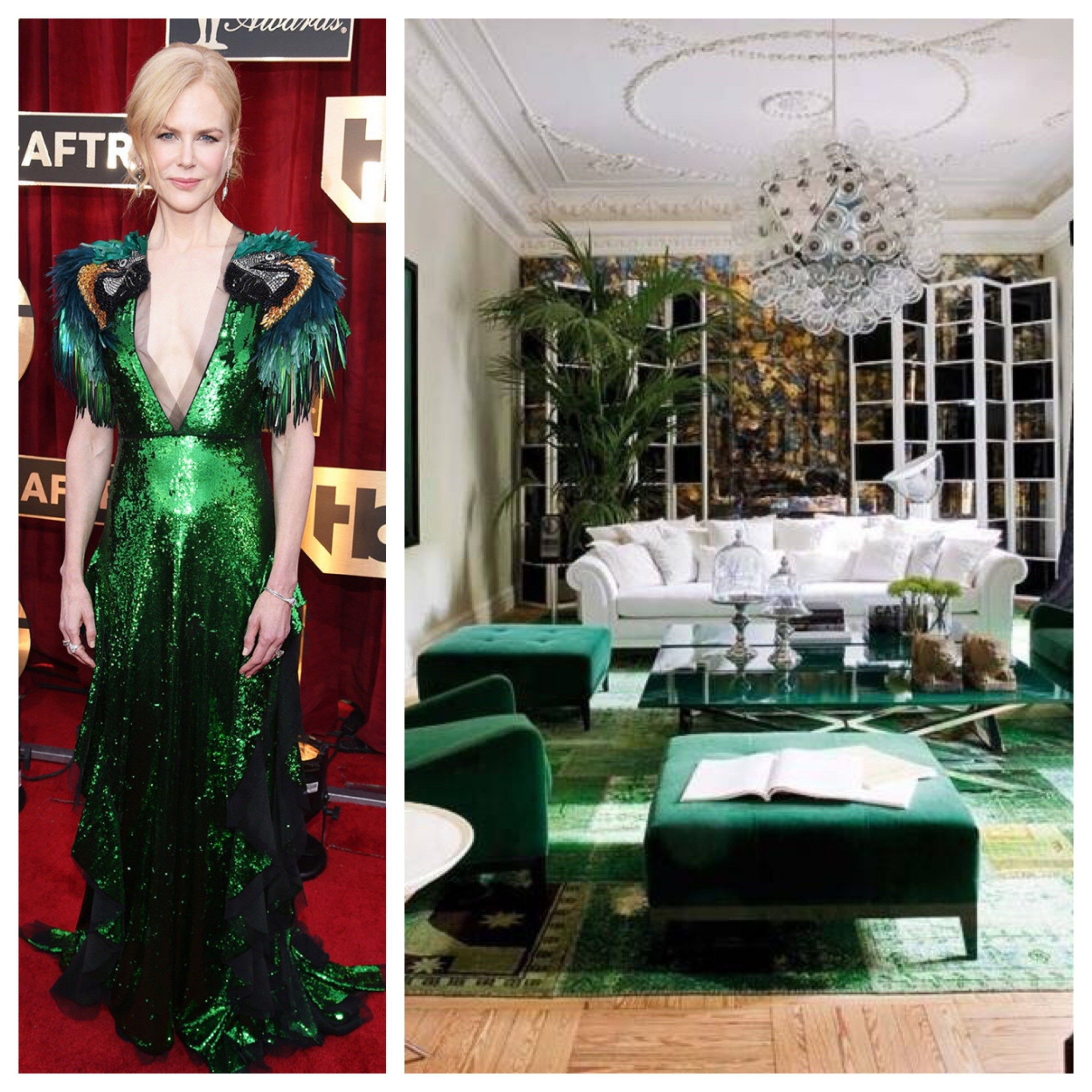 Green Living Room Furniture 3