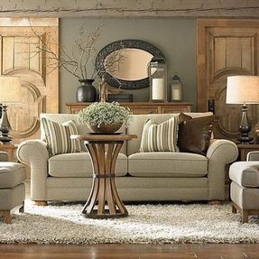 Green living room furniture