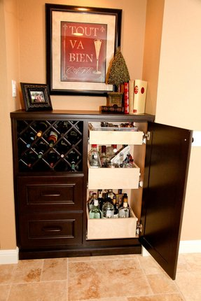 Home Bar Liquor Cabinet Foter