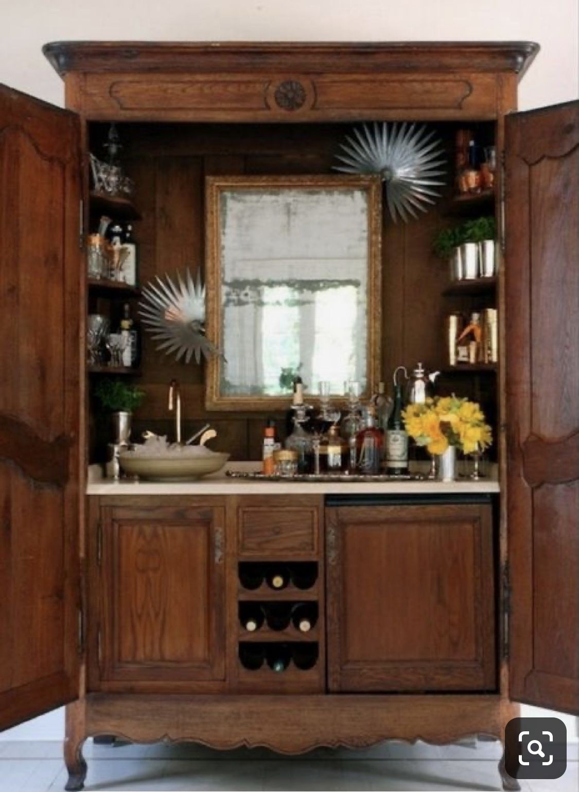 Home Bar Liquor Cabinet 6