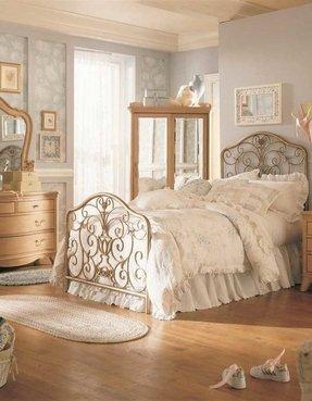 Antiek Look Bed.Iron Bed Headboard Ideas On Foter