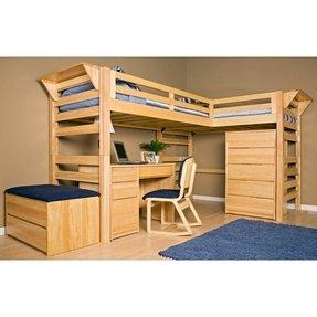 Free Wood Loft Bed Plans