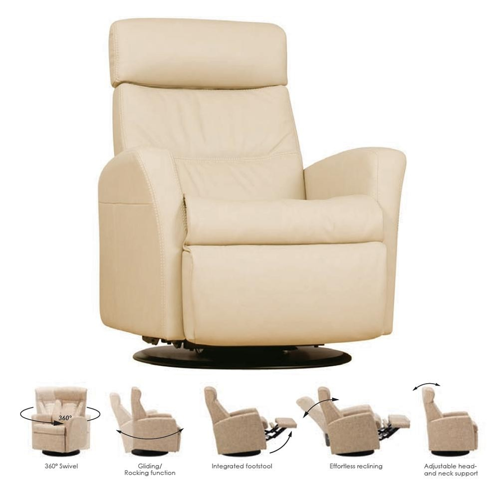 Leather Swivel Recliners 12. Swivel Reclining Chair
