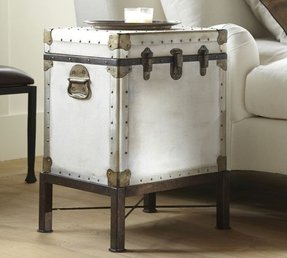 Storage Trunk End Table Foter