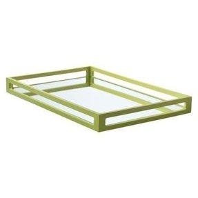 Mirrored trays for dressers 23