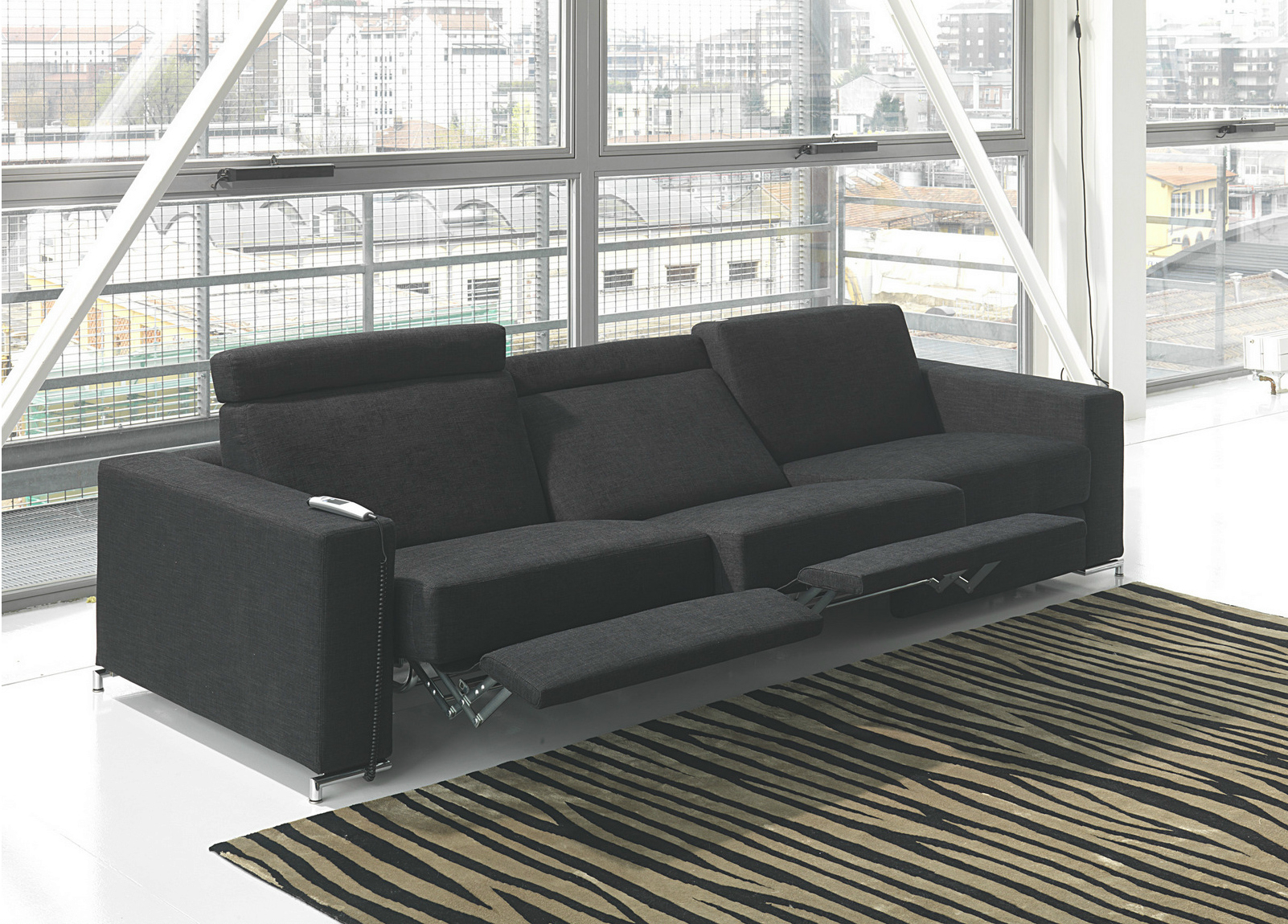 modern reclining sofas ideas on foter rh foter com Contemporary Reclining Sectional Modern Reclining Sofa Power