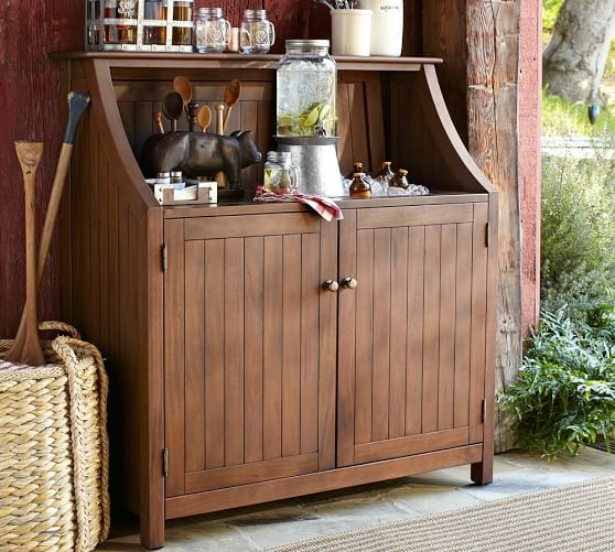 Ordinaire Outdoor Bar Storage Cabinet 10