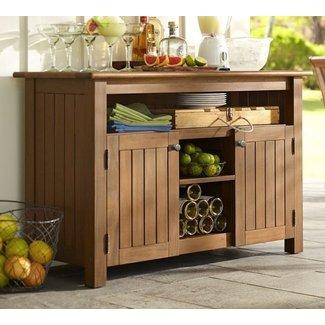 Outdoor Bar Storage Cabinet 11