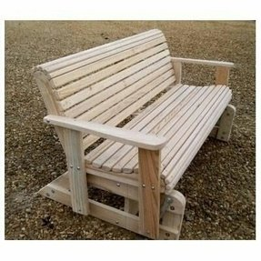 Providence outdoor glider bench