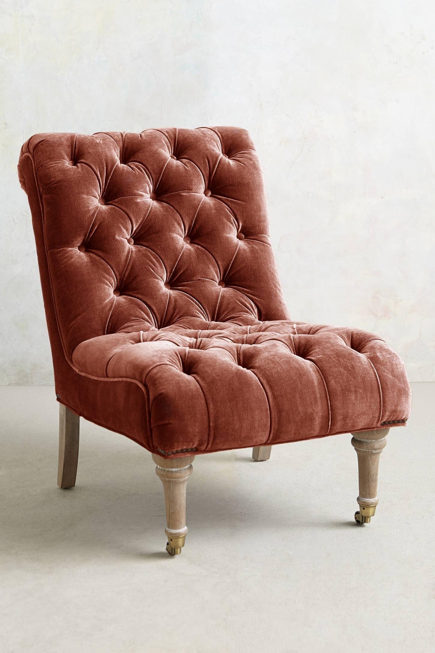 Purple Velvet Chair 4