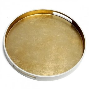Round trays for coffee tables