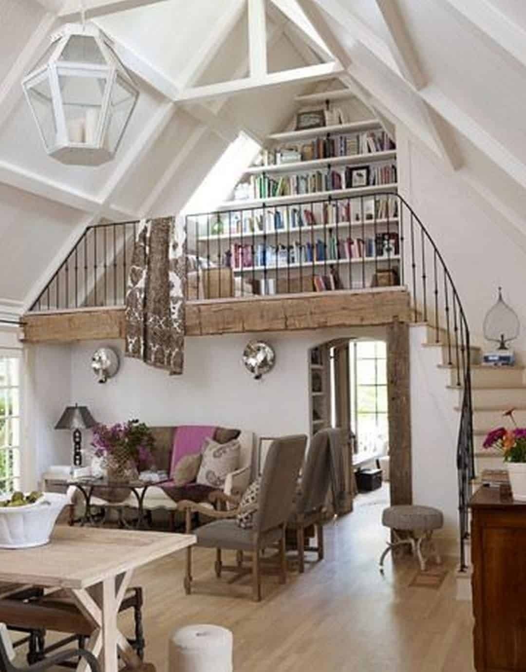 Space Saving Stairs For Loft
