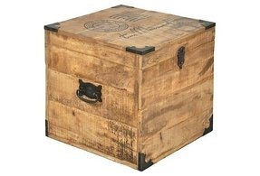 Storage trunk end table 4