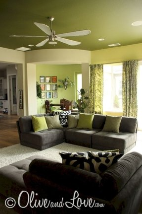 Best Green Living Room Furniture Ideas On Foter