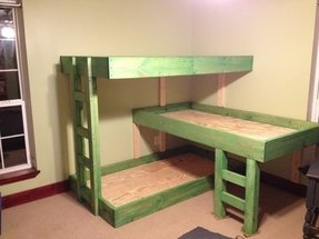 Triple Bunk Beds For Kids Ideas On Foter