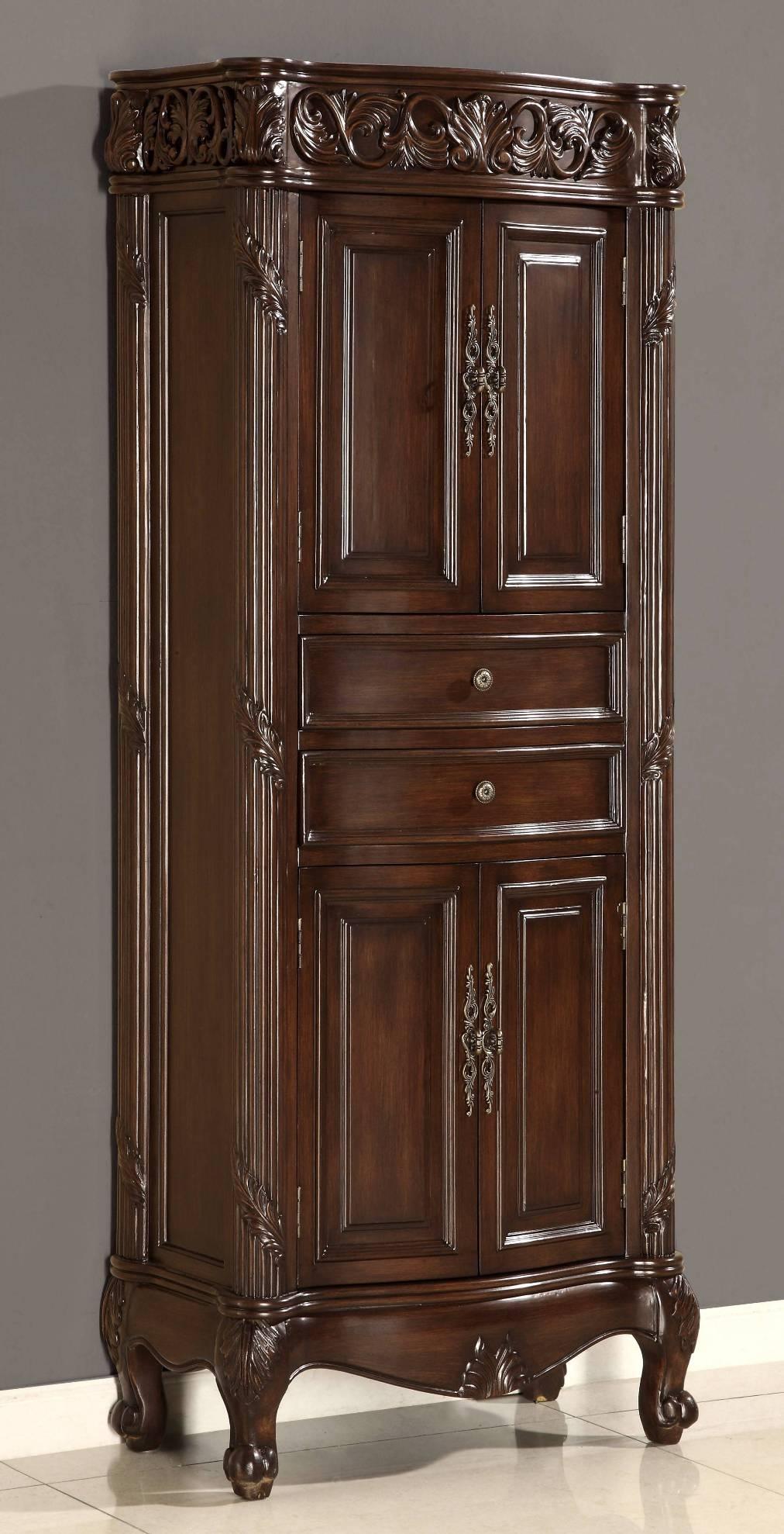 Beautiful Vintage Linen Cabinet