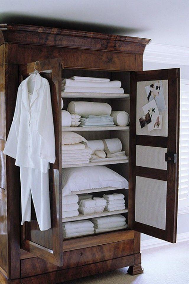 Vintage Linen Closet