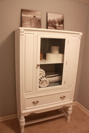 White Linen Cabinet For Bathroom Foter