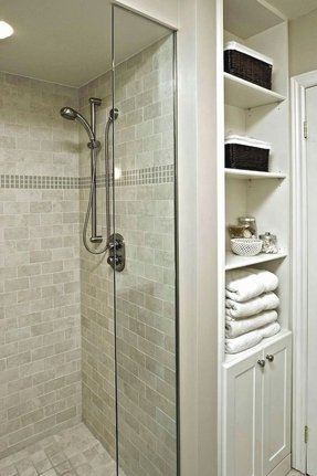 White Linen Cabinet For Bathroom 8