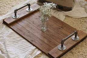 Groovy Wooden Trays For Ottomans Ideas On Foter Ibusinesslaw Wood Chair Design Ideas Ibusinesslaworg