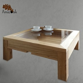 40 inch square coffee table