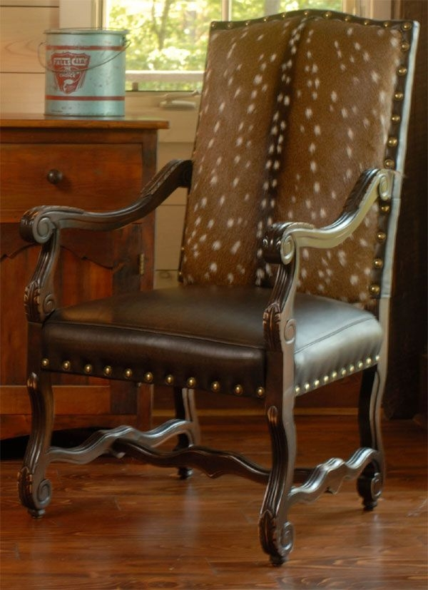 Axis Deer Black Forest Arm Chair Axis Deer Black Forest