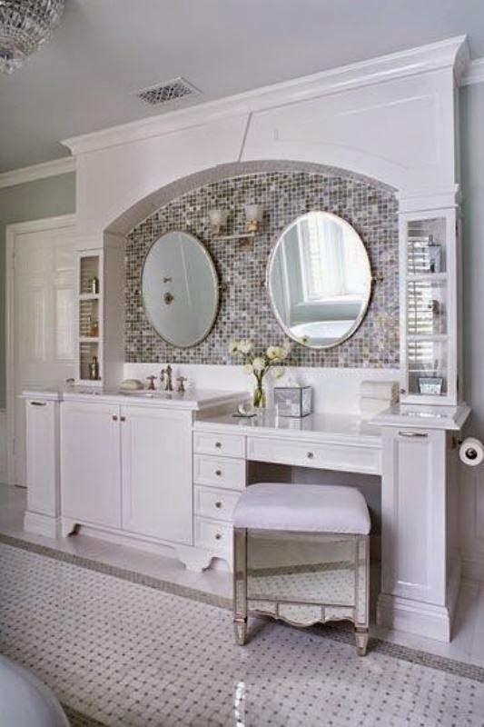 Elegant Bathroom Makeup Stools 10