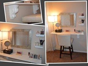 Awe Inspiring Bathroom Makeup Stools Ideas On Foter Andrewgaddart Wooden Chair Designs For Living Room Andrewgaddartcom