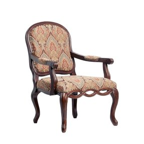 Comfort pointe harvard carved arm chair 1