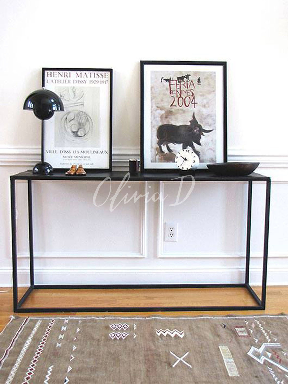 Black modern sofa table White Console Tables Black Foter White High Gloss Console Table Ideas On Foter