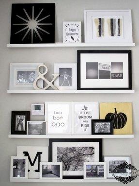 photo display shelves foter