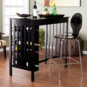 Dining Table With Wine Storage Foter