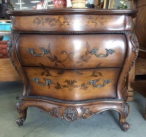 French provincial bombay chest by