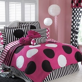 Black And White Polka Dot Comforter Set Foter