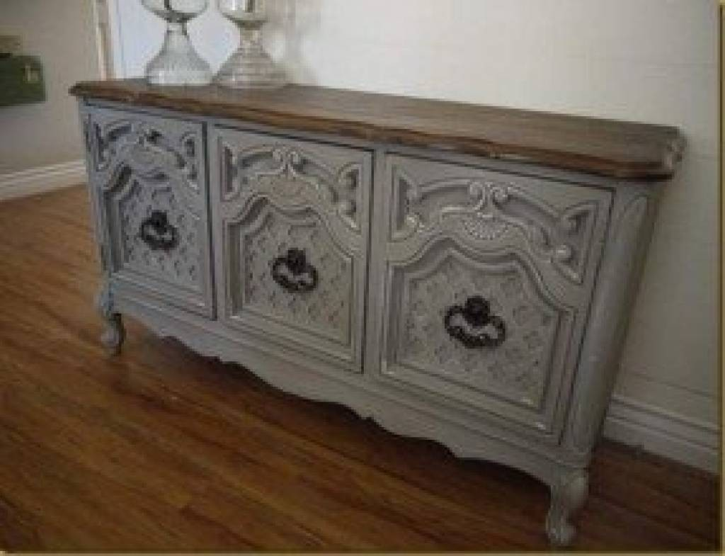 Hand Painted Buffet Furniture