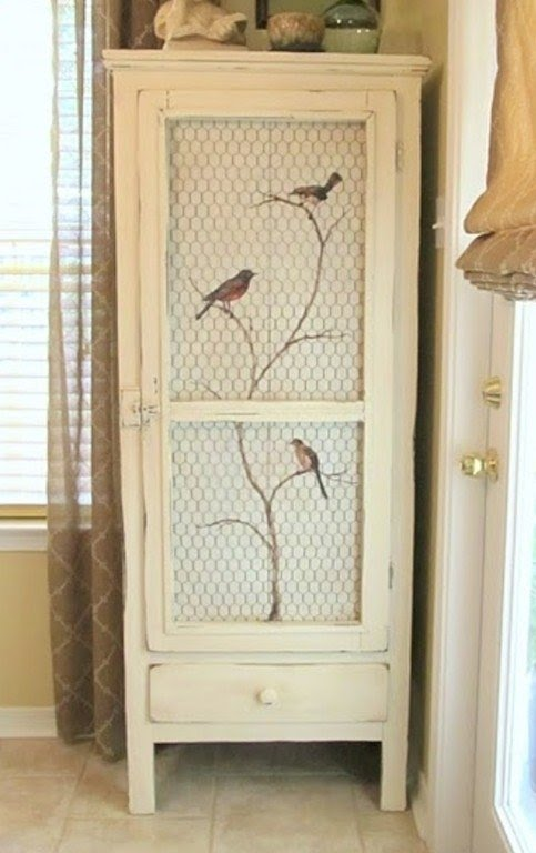 Hand Painted Cabinet   Ideas On Foter